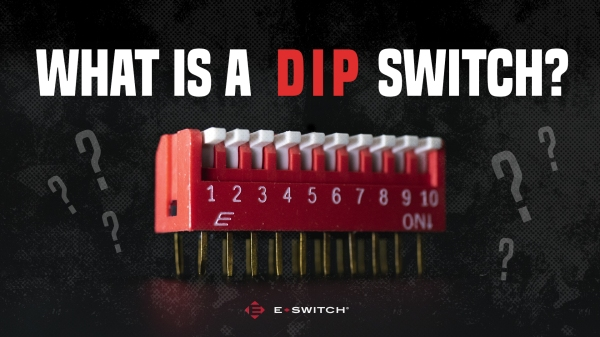 Red DIP Switch