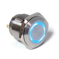 blue light PV6 Anti-vandal switch